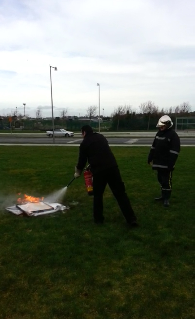 Basic Fire awareness training by IFS